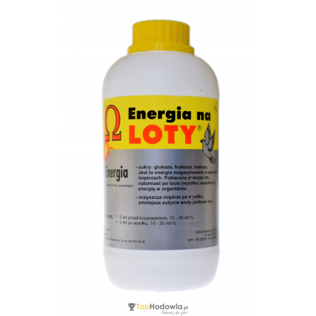 Energia na loty 1L