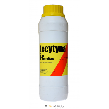 Lecytyna + L-Carnityna 500 ml