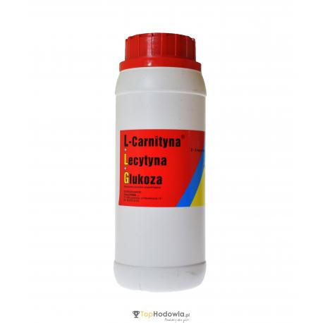 Lecytyna + L-Carnityna + Glukoza 250g