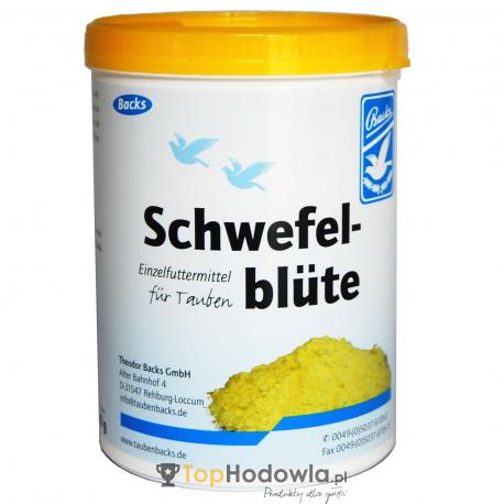 Schwefelblüte – kwiat siarczany, NA PIERZENIE! 600g