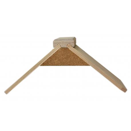 Siodełko spoczynkowe drewniane